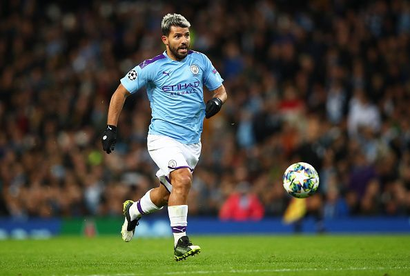 Pep Guardiola will once again be looking to his lethal hitman for inspiration upfront