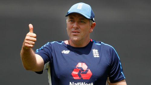 England bowling coach Chris Silverwood