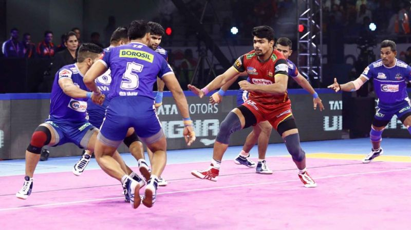Pawan Sehrawat shattered the record of scoring the most raid points in a single PKL match