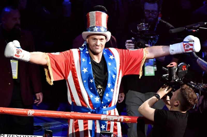 Fury is one of the biggest attractions in the boxing world