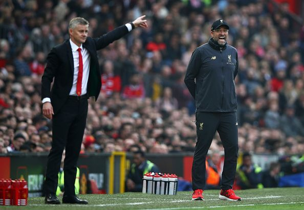 Ole Gunnar Solskjaer and Jurgen Klopp face each other in the game of the weekend