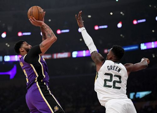 Anthony Davis finished with 21 points the Los Angeles Lakers' win over Utah Jazz.