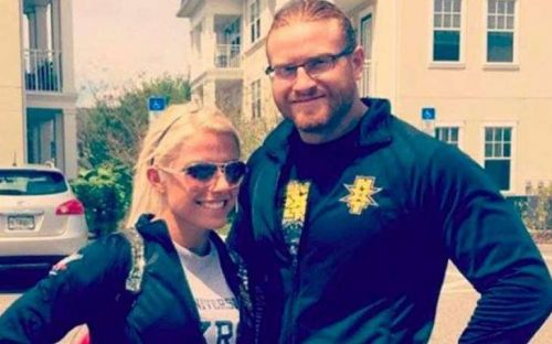 Alexa Bliss and Buddy Murphy dated throughout their time in NXT