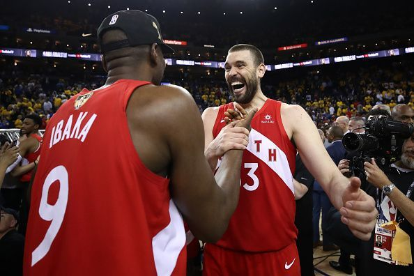 Serge Ibaka and Marc Gasol could be among the stars to leave the Raptors ahead of the trade deadline