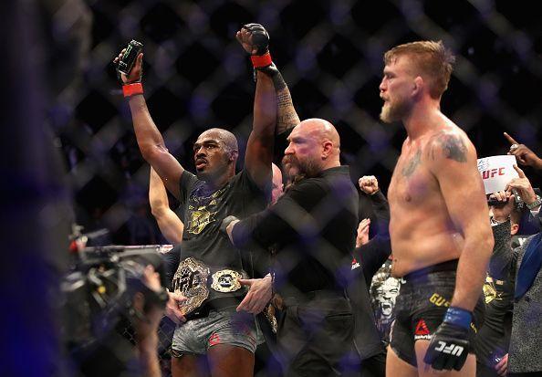 UFC 232 Jones v Gustafsson 2