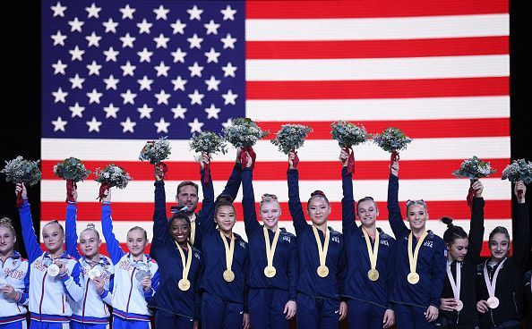 Team USA won its fifth consecutive gold during the team final.