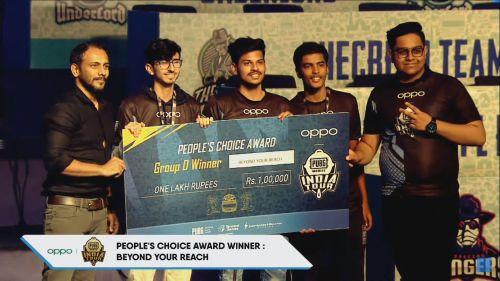 BYR won the People's Choice Award