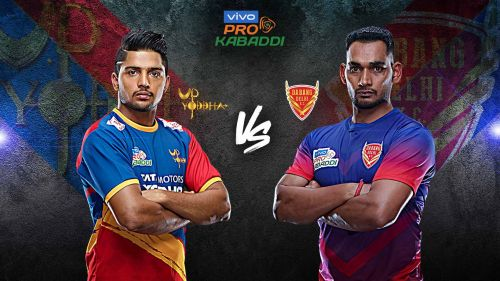 UP Yoddha look to book their playoffs spot with a win against Dabang Delhi K.C. tonight.