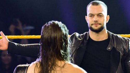 Finn Balor is back in the black and yellow brand