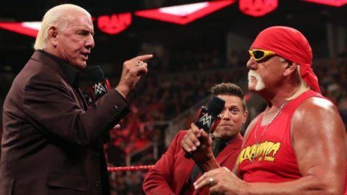 Hulk Hogan and Ric Flair are still as charismatic as ever