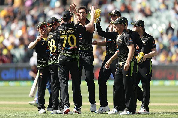 Australia v Sri Lanka - Men