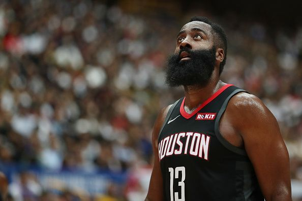 James Harden starred for the Houston Rockets