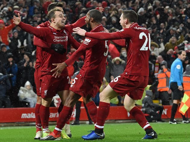 Liverpool ran riot in the reverse fixture last term
