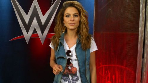 Maria Menounos competed at WrestleMania 28