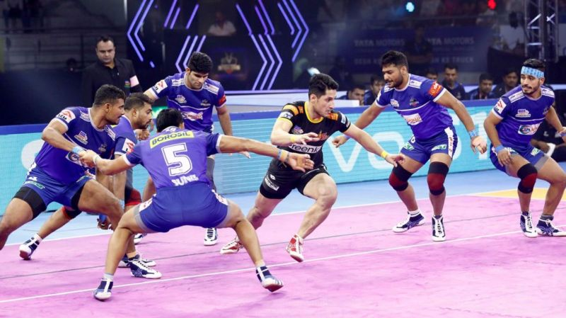 Haryana Steelers ended their home leg with a dominant win over the Telugu Titans