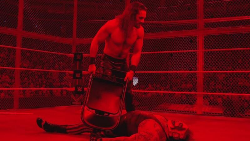Seth Rollins and The Fiend met in the main event