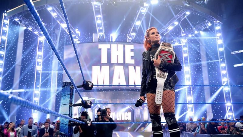 The Man was the first Superstar to appear on SmackDown on Fox