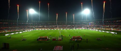 FC Goa, who play some exciting football use the Fatorda Stadium as their home ground (Credits: ISL)