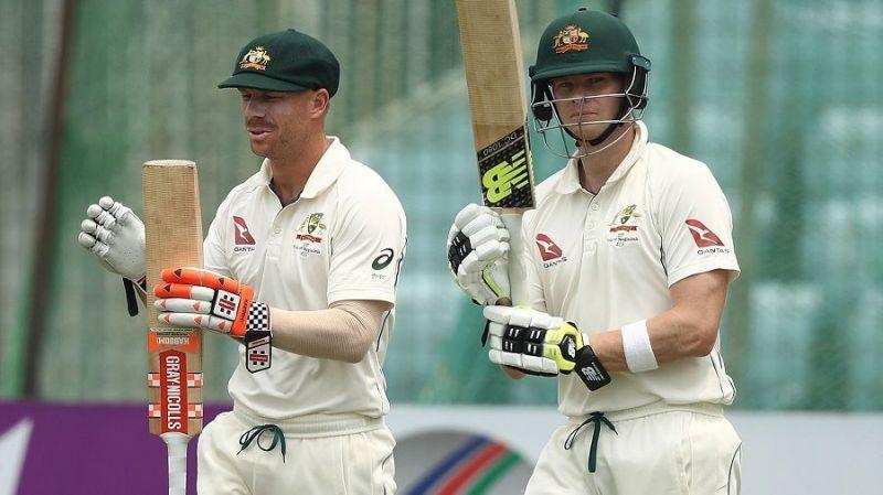 डेविड वार्नर और स्टीव स्मिथ ने एक साल के बैन के बाद अंतर्राष्ट्रीय क्रिकेट में वापसी की है