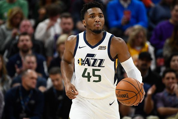 Donovan Mitchell scored 32 points during Utah