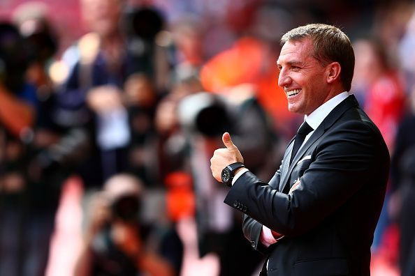 Brendan Rodgers almost won the Premier League title with Liverpool in 2013/14.