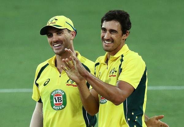 Mitchell Starc and Pat Cummins lead the Australian bowling attack