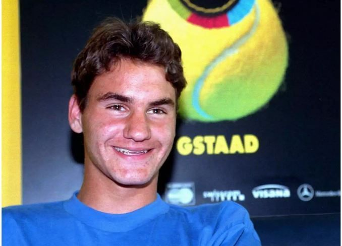 Federer at 1998 Gstaad