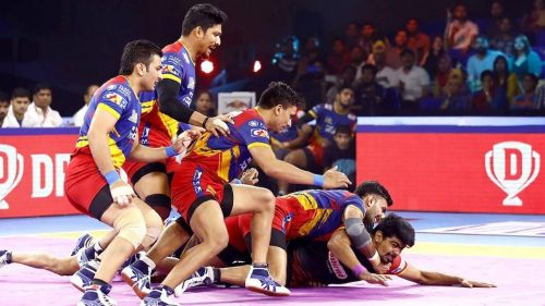 Pawan Sehrawat could not help Bengaluru Bulls win against U.P. Yoddha