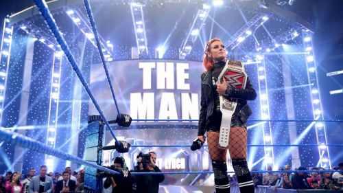 The RAW Women's Champion - Becky Lynch