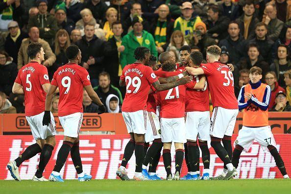 Norwich City v Manchester United - Premier League