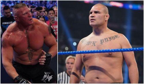 क्राउन ज्वेल में ब्रॉक लैसनर और केन वैलासकेज के बीच WWE चैंपियनशिप के लिए मैच होगा