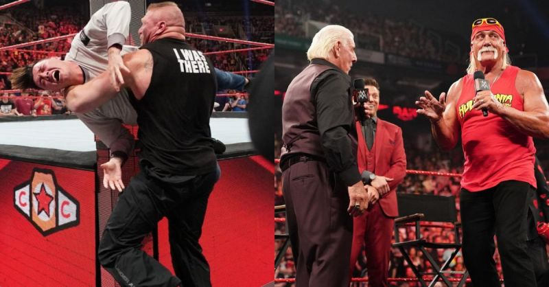 Lesnar might face criminal charges, two Legends rekindled their rivalry