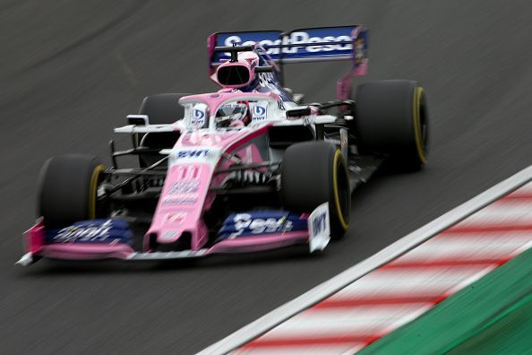 Sergio Perez was timed eighth-fastest during both practice sessions on Friday