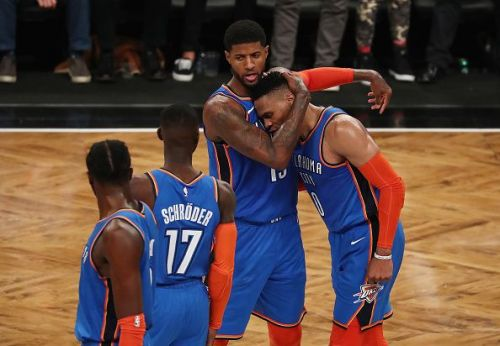 Both Russell Westbrook and Paul George exited the OKC Thunder over the offseason