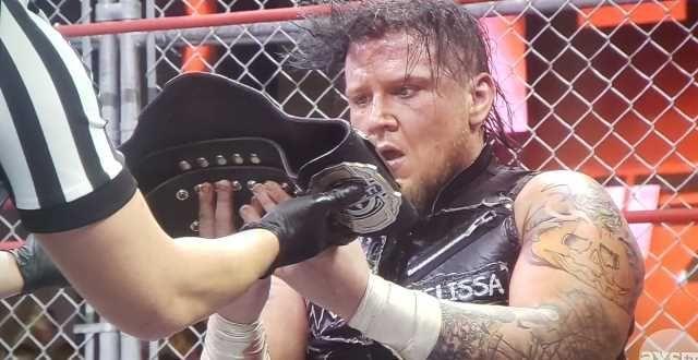 Sami Callihan wins the Impact Wrestling World Title