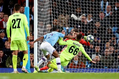 Sterling opened the scoring for Manchester City