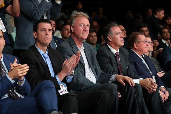 NBA legend Larry Bird was in attendance today
