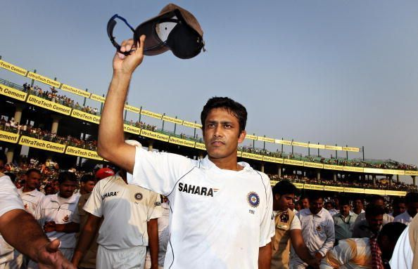 Anil Kumble currently holds the record for being the quickest Indian bowler to 350 Test wickets.