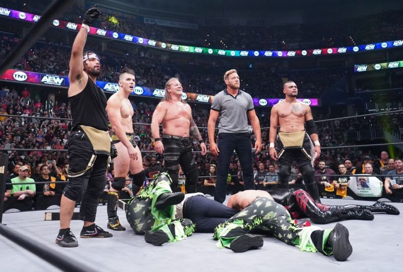 Jericho and friends closed out the debut of Dynamite with a bang.