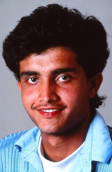Sourav Ganguly has come a long way since his debut.