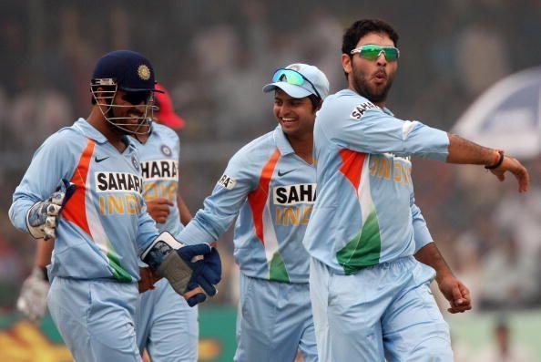 युवराज सिंह 2011 विश्व कप में शानदार प्रदर्शन के लिए जाने जाते हैं