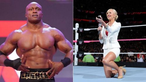 Bobby Lashley and Summer Rae have both been involved in romance storylines