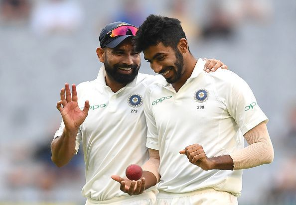 Jasprit Bumrah and Mohammed Shami have been the key bowlers