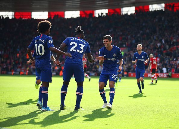 Both substitutes were involved in Chelsea