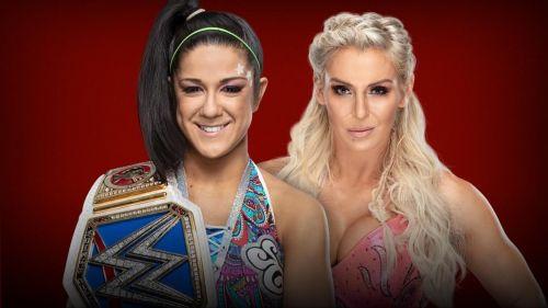 Bayley vs Charlotte Flair