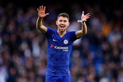 Jorginho has been in hot form for Chelsea this season.
