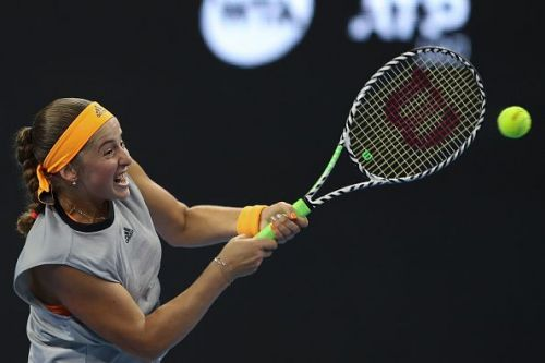 Jelena Ostapenko has only lost one match across two tournaments.