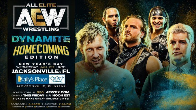 AEW will be LIVE on New Year