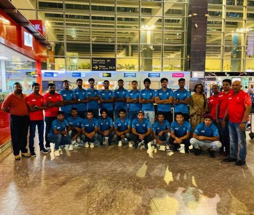The Indian juniors are raring to go