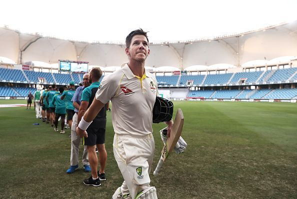 Tim Paine has finally scored his second first-class century
